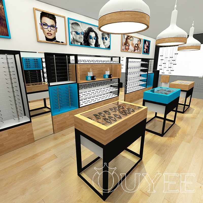 High End Eyeglass Display Case Design OYE22